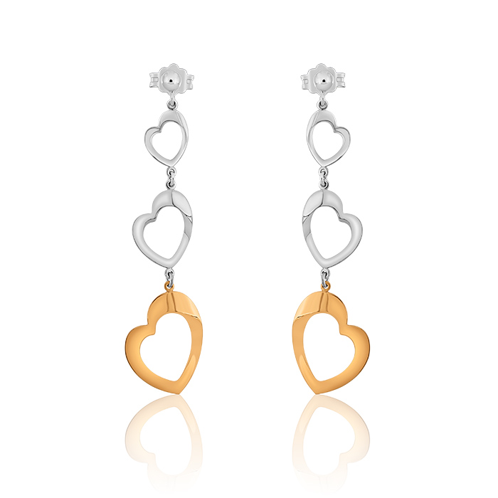 Gold Earrings Cegp0059 Bijuteria Stil
