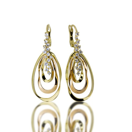 Gold Earrings Cerb7056 Roberto Bravo