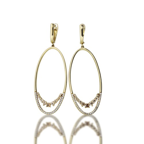 Gold Earrings Cerb7069 Roberto Bravo