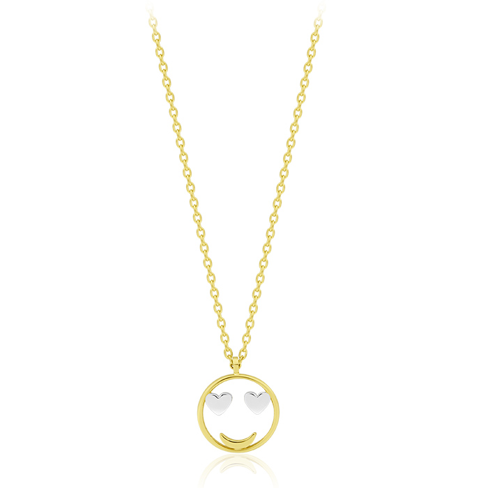Gold Necklace Olpar00545 Bijuteria Stil