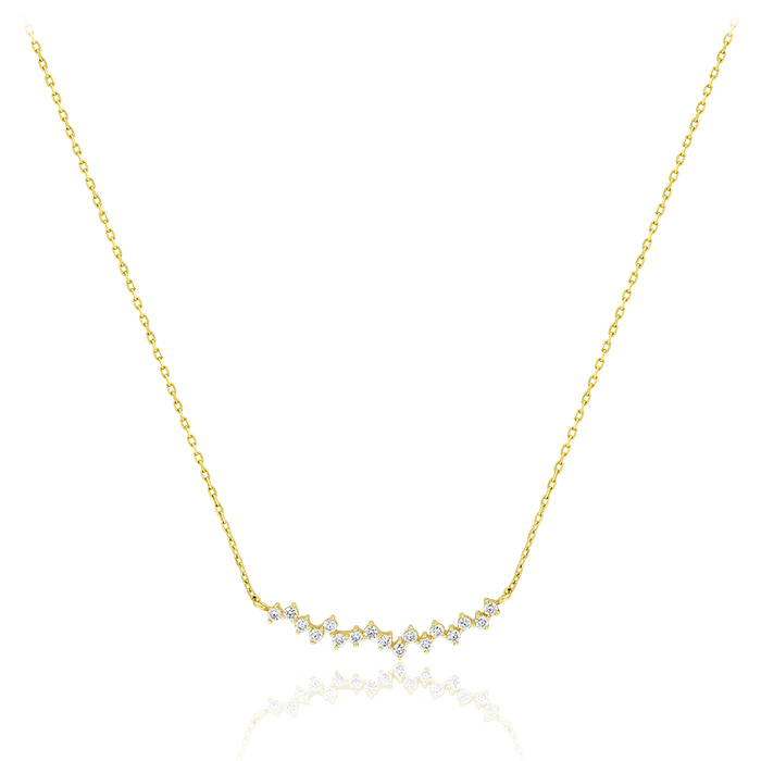 Gold Necklace Olpar00546 Bijuteria Stil