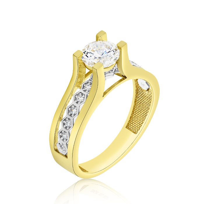 Engagement Ring Oinoy02940 Bijuteria Stil
