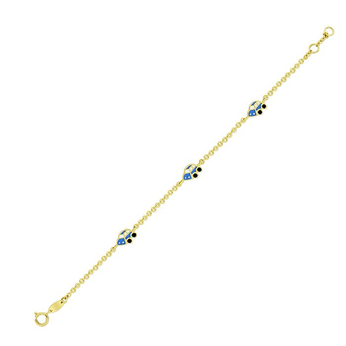 Gold Bracelet For Children Obrar01840 Bijuteria Stil