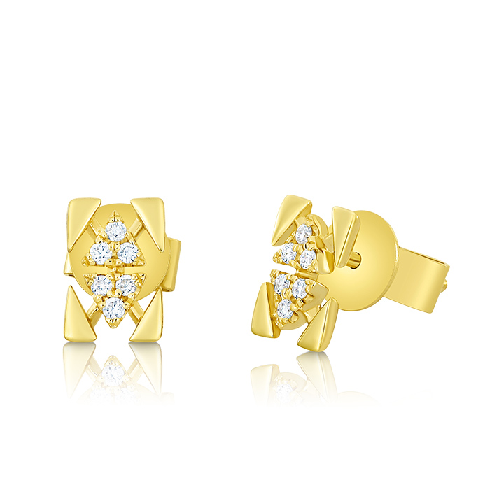 Diamond Earrings Ocedaa05797 Bijuteria Stil
