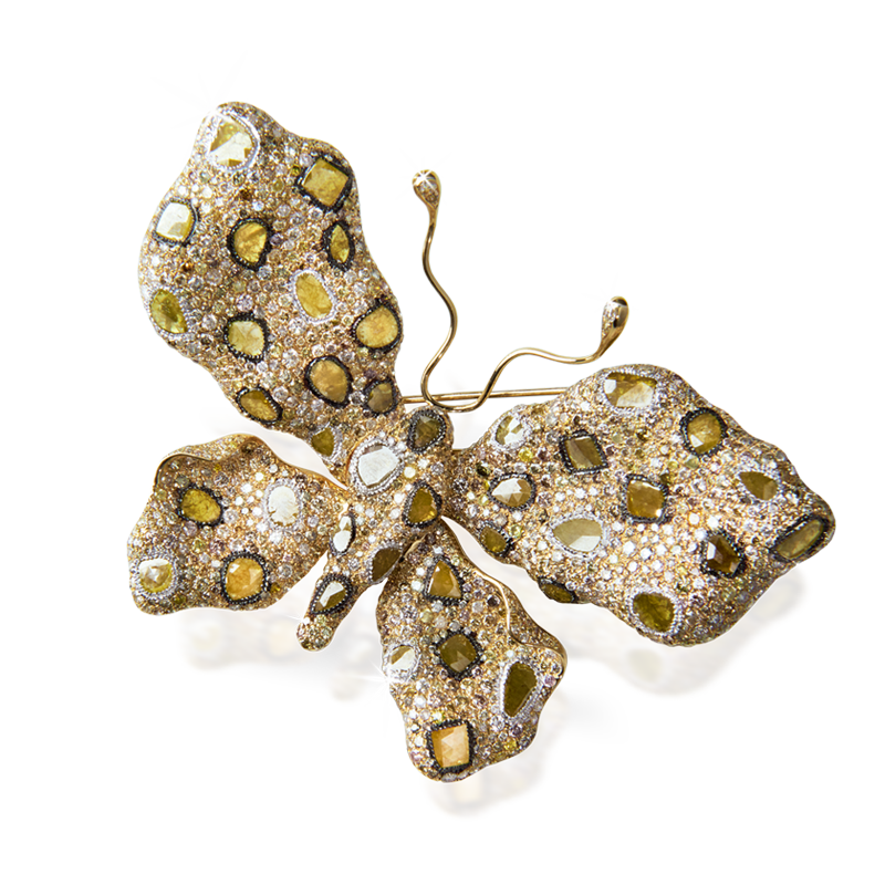 Diamonds Brooch Bsdbr0001 Bijuteria Stil
