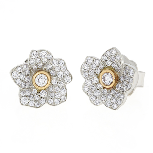 Diamonds Earrings Cedhb2107 Hulchi Belluni