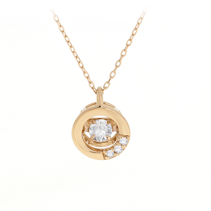 Dancing Diamonds Necklace Lpdun0105 Bijuteria Stil