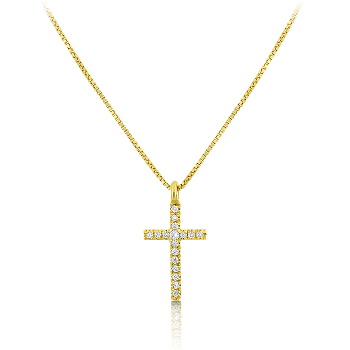 Diamond Necklace Olpddi01539 Bijuteria Stil