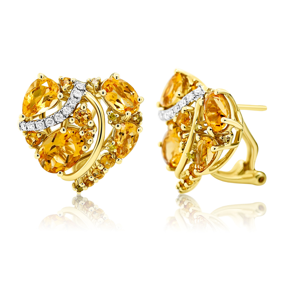 Diamond Earrings Ocedfp08893 Bijuteria Stil