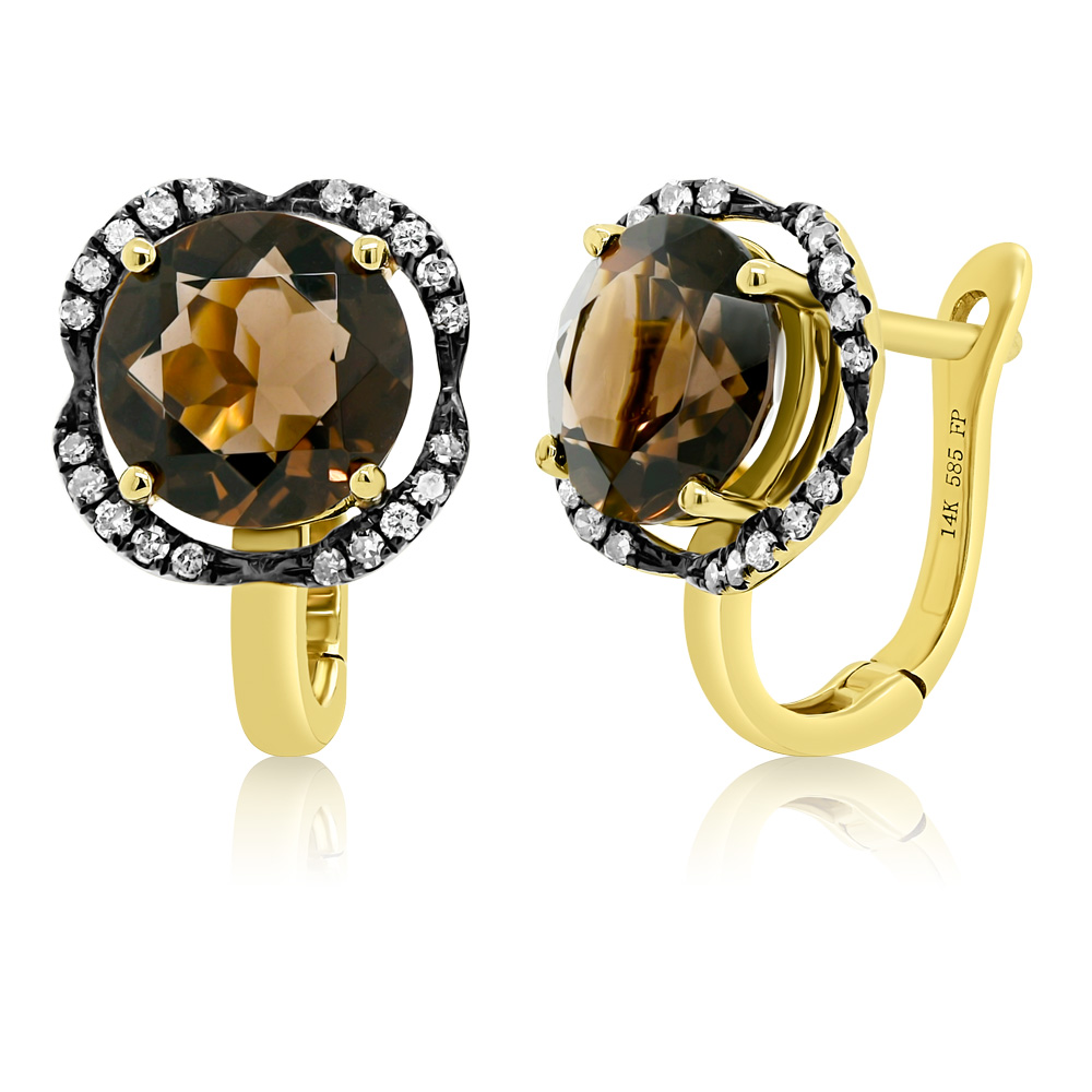 Diamond Earrings Ocedfp08967 Bijuteria Stil