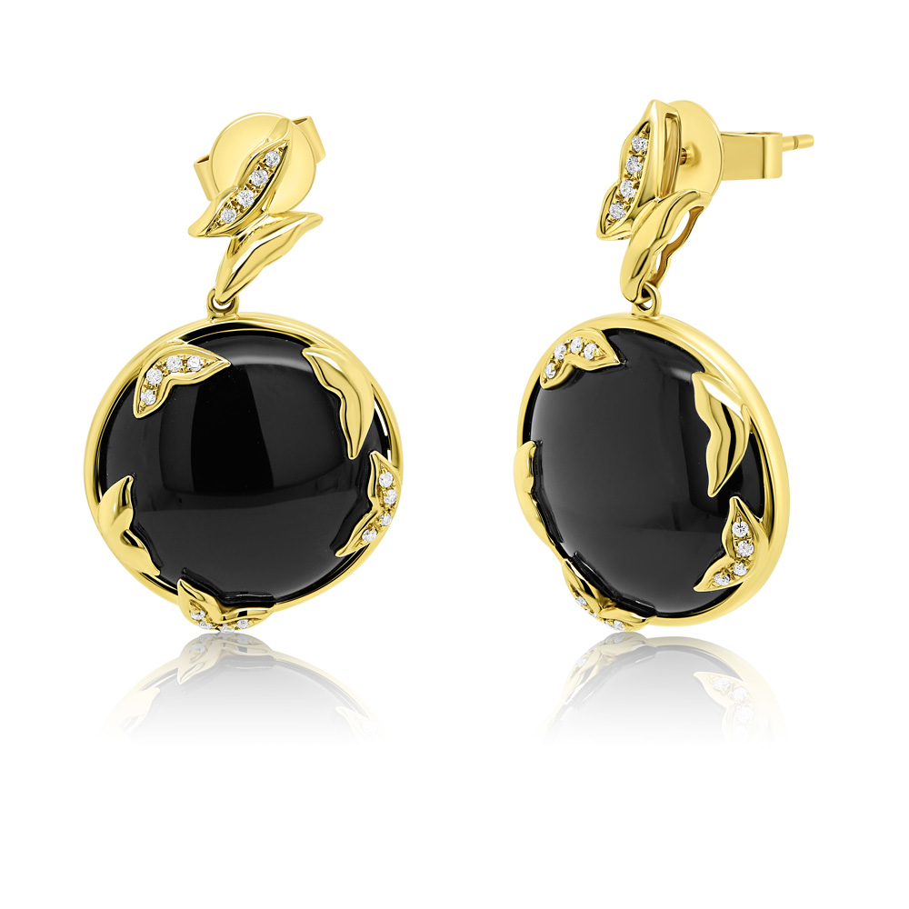 Diamond Earrings Ocedfp08974 Bijuteria Stil