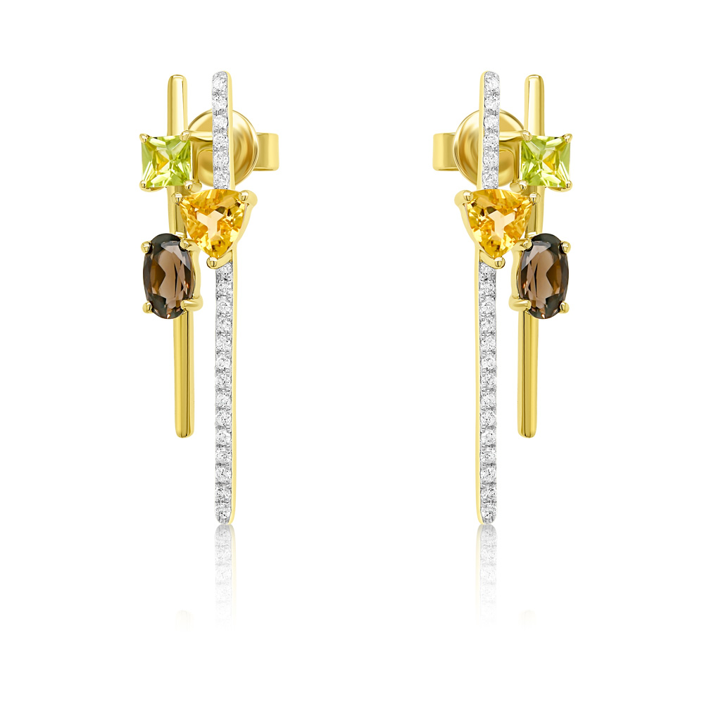 Diamond Earrings Ocedfp08991 Bijuteria Stil