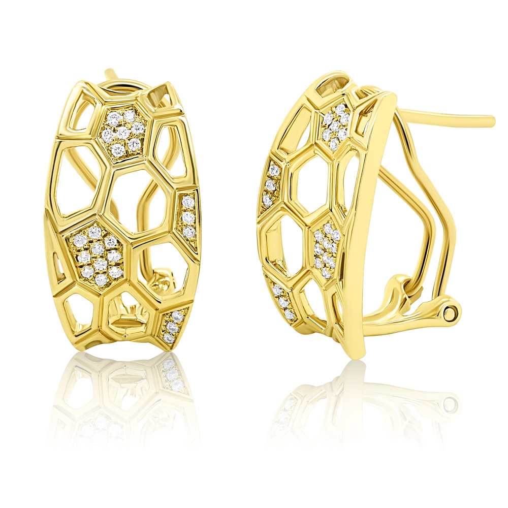 Diamond Earrings Ocedfp08992 Bijuteria Stil