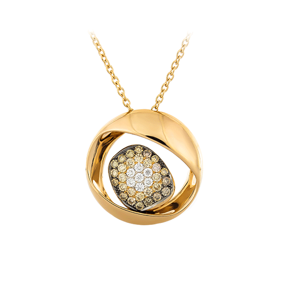 Gold Necklace With Diamonds Lpdko0001 K Di Kuore