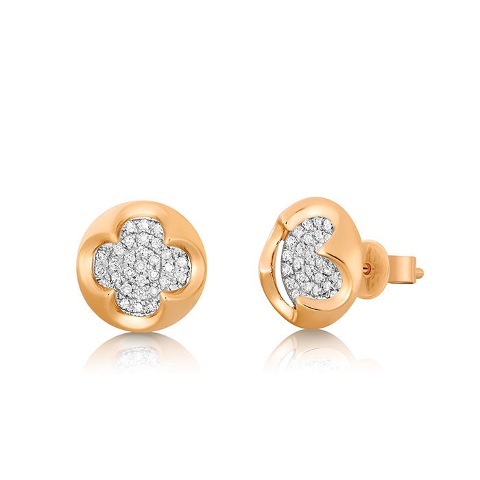 Diamond Earrings Ocedpj05417 Bijuteria Stil