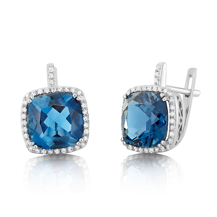 Diamond Earrings Ocedpj05443 Bijuteria Stil