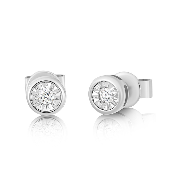 Diamond Earrings Ocedpj05457 Bijuteria Stil
