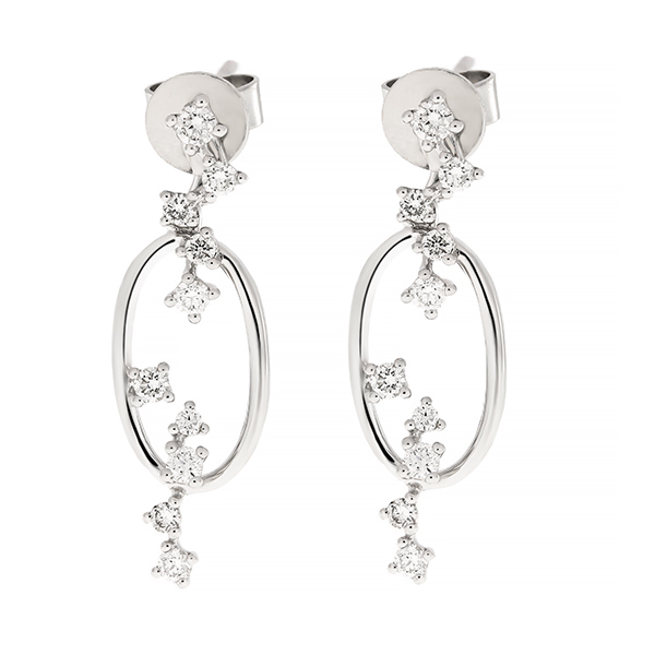 Diamond Earrings Cedaa0048 Bijuteria Stil