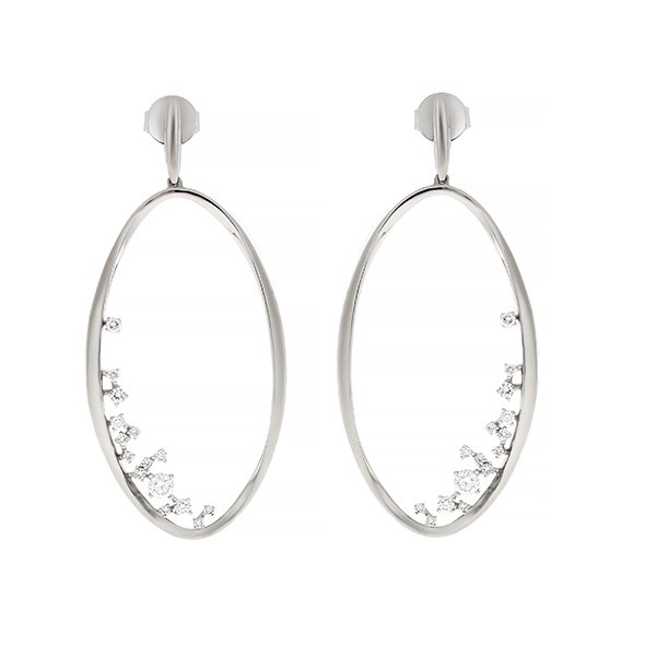 Diamond Earrings Cedaa0055 Bijuteria Stil
