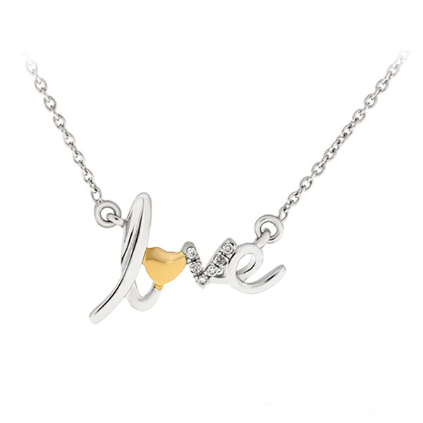Diamonds Necklace Lpdkw1012 Bijuteria Stil