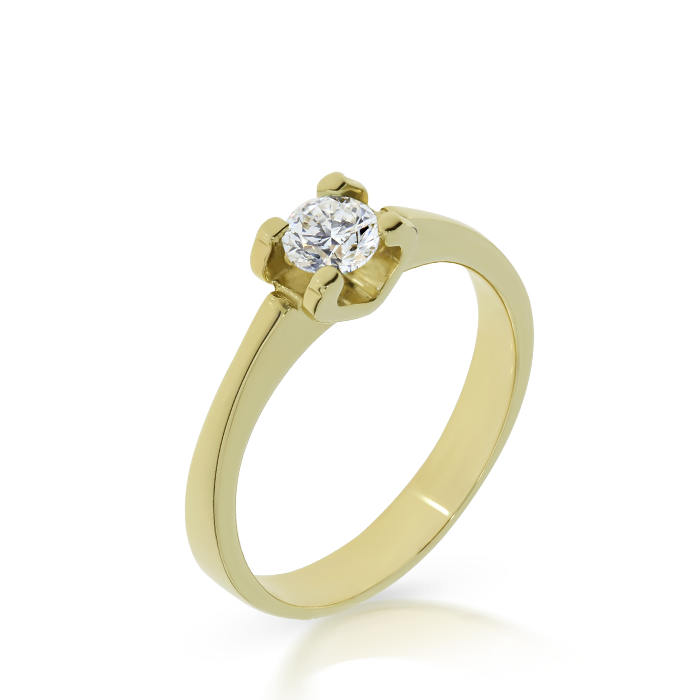 Diamond Ring Indvl1 Bijuteria Stil