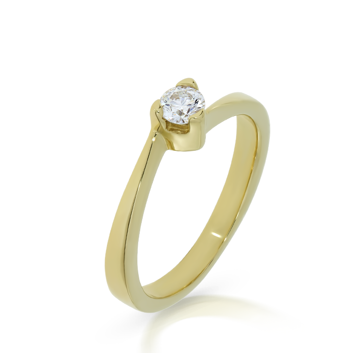 Diamond Ring Indgvln0048 Bijuteria Stil