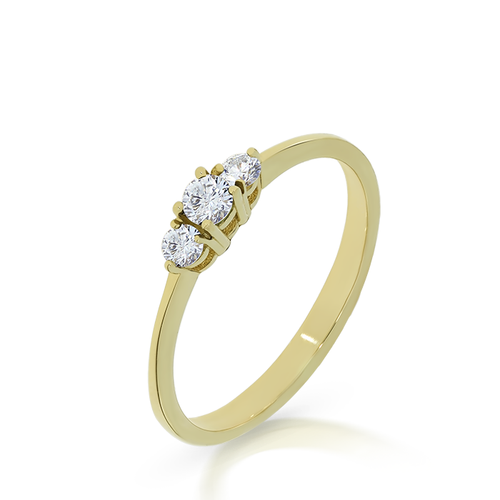Diamond Ring Indgvln0031 Bijuteria Stil