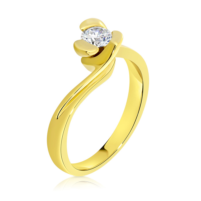 Diamond Engagement Ring Inv002d Bijuteria Stil