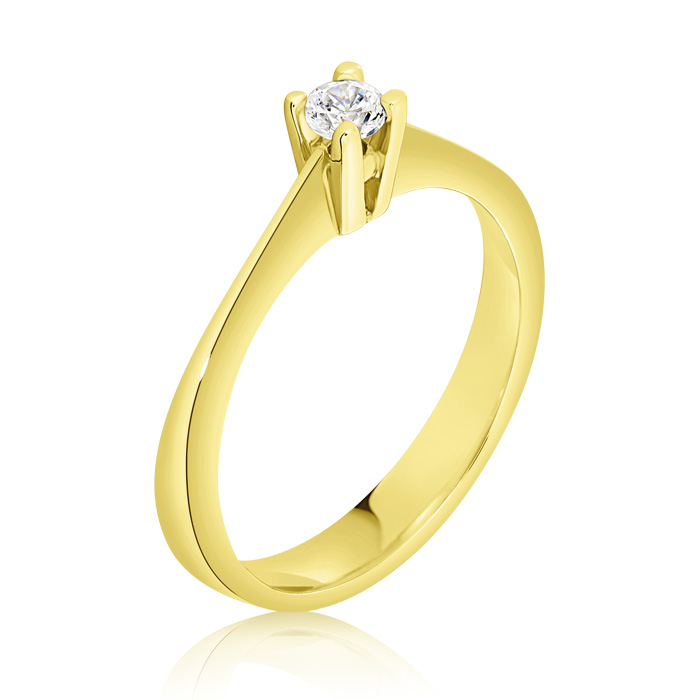 Diamond Engagement Ring Inv009d Bijuteria Stil