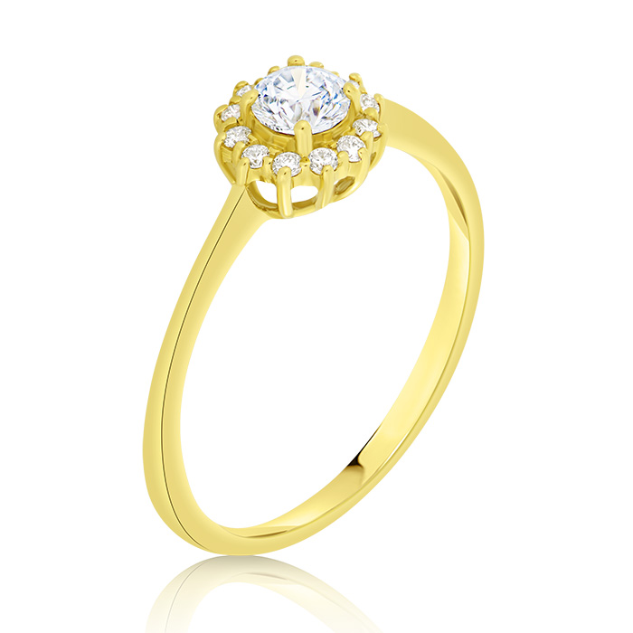 Diamond Engagement Ring Inv014d Bijuteria Stil