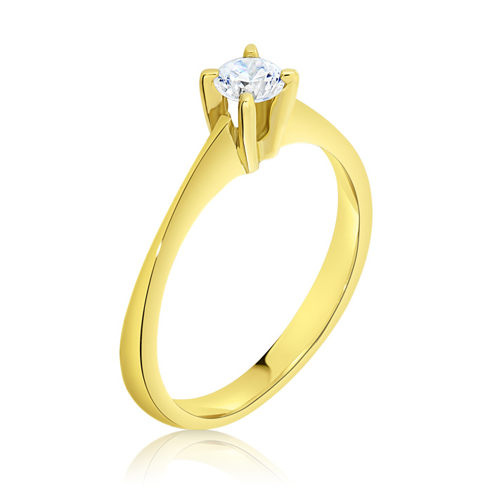 Diamond Engagement Ring Inv016d Bijuteria Stil