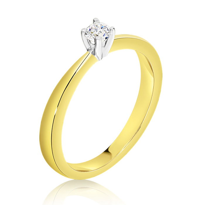 Diamond Engagement Ring Inv023d Bijuteria Stil