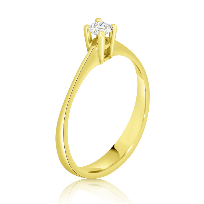 Diamond Engagement Ring Inv026d Bijuteria Stil