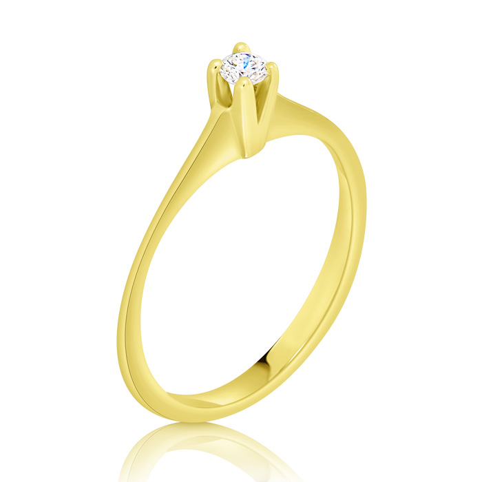 Diamond Engagement Ring Inv027d Bijuteria Stil