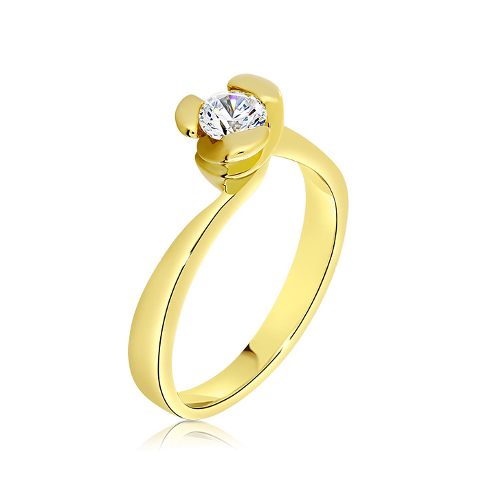 Diamond Engagement Ring Inv028d Bijuteria Stil