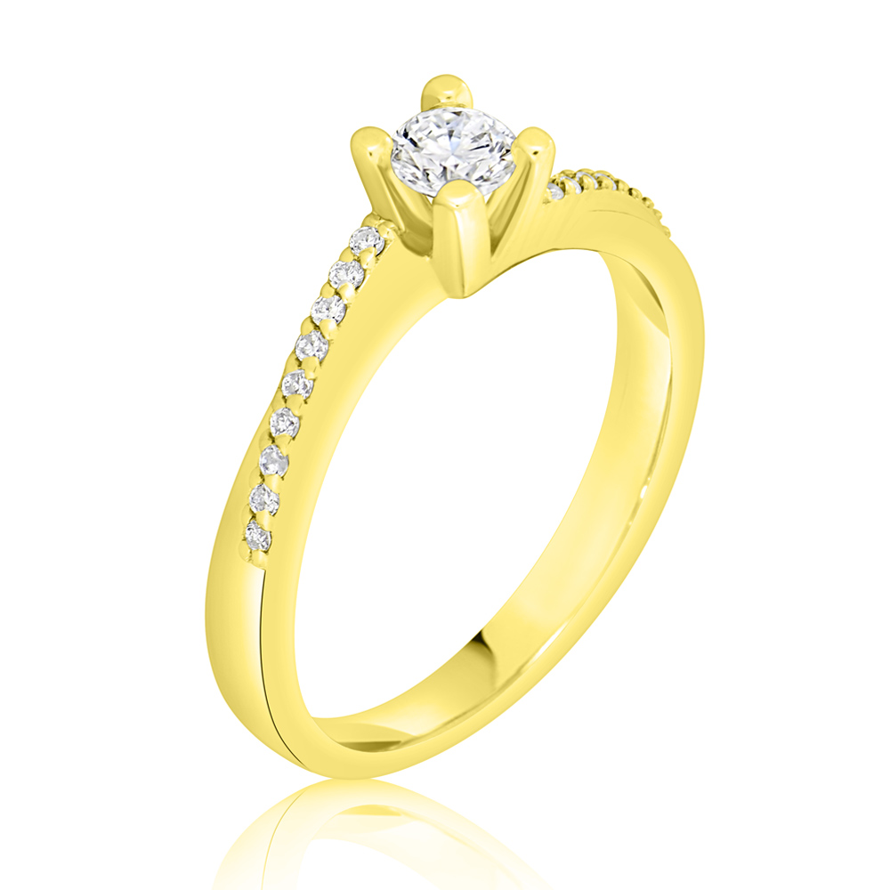 Diamond Engagement Ring Inv029d Bijuteria Stil