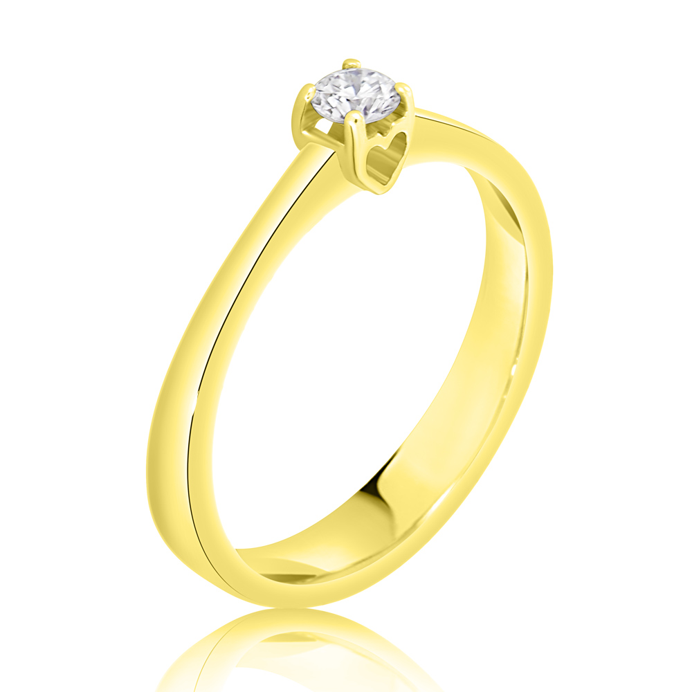 Diamond Engagement Ring Inv048d Bijuteria Stil