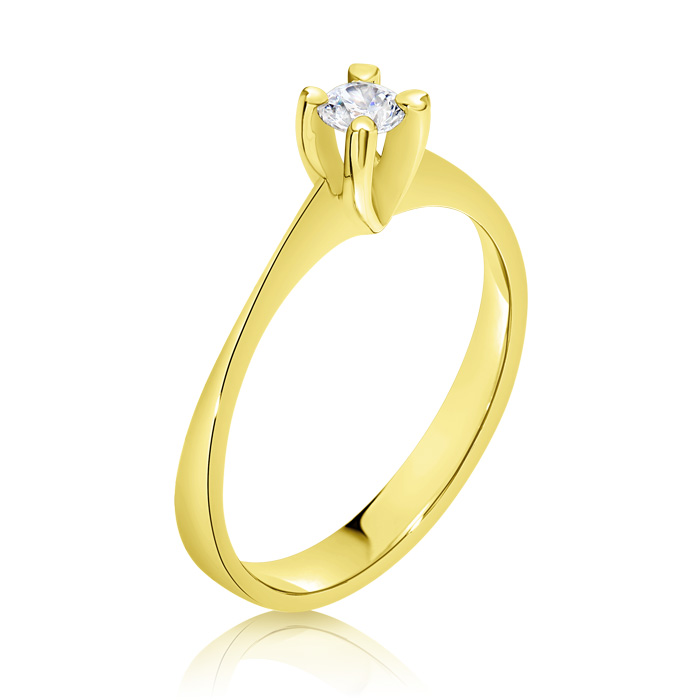 Diamond Engagement Ring Inv017d Bijuteria Stil