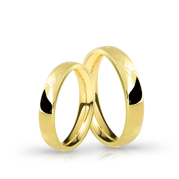 Wedding Ring Gold Atractivo 501 Confort