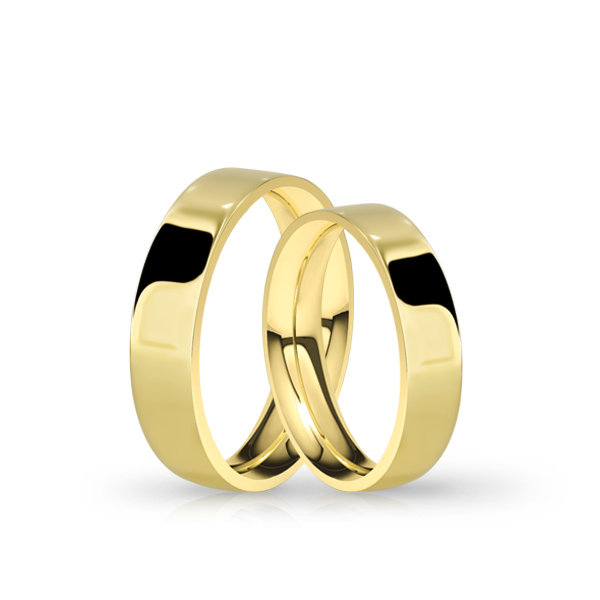 Wedding Ring Gold Atractivo 502 Confort