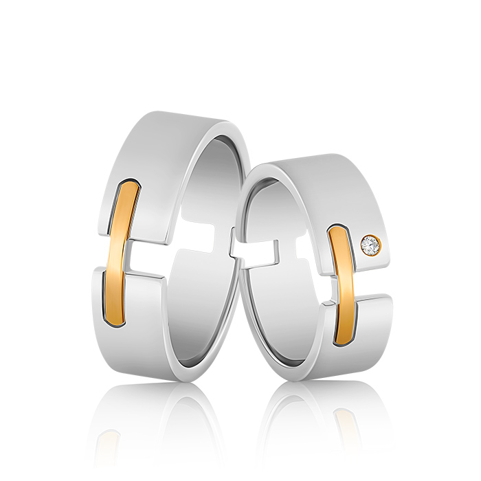 Wedding Ring Gold Elegante 627