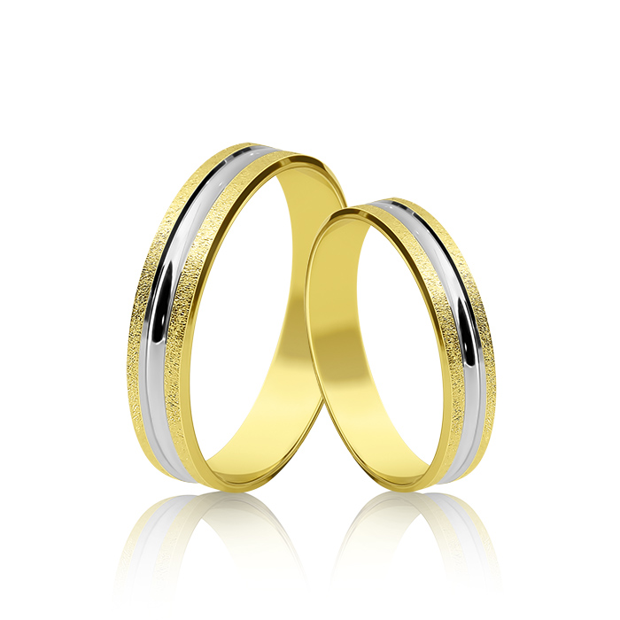 Wedding Ring Gold Atractivo 507