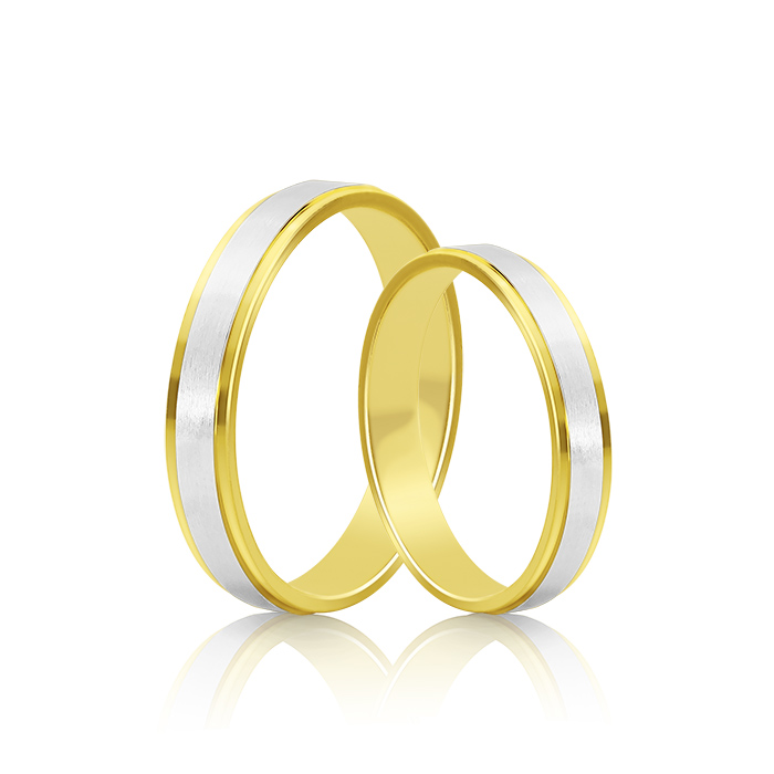 Wedding Ring Gold Atractivo 508