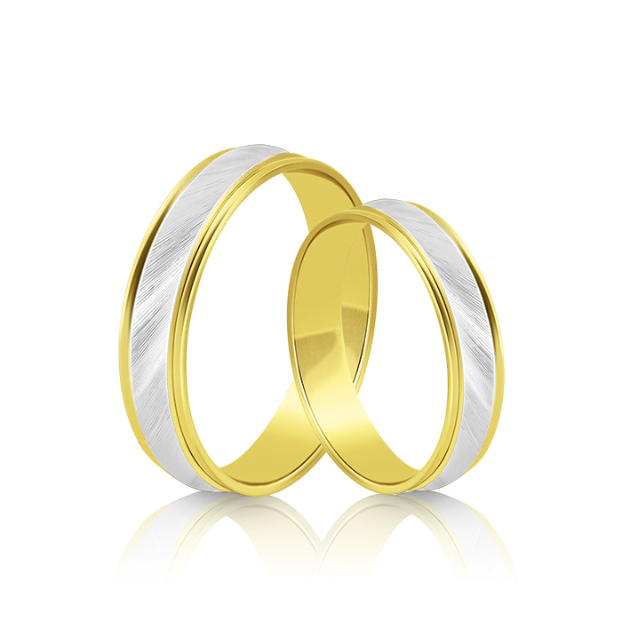 Wedding Ring Gold Atractivo 509