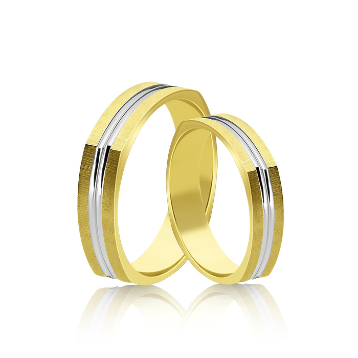 Wedding Ring Gold Atractivo 510