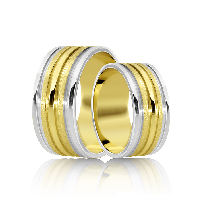 Wedding Ring Gold Atractivo 519