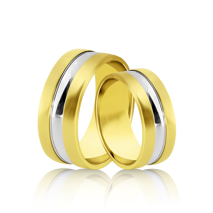 Wedding Ring Gold Atractivo 523