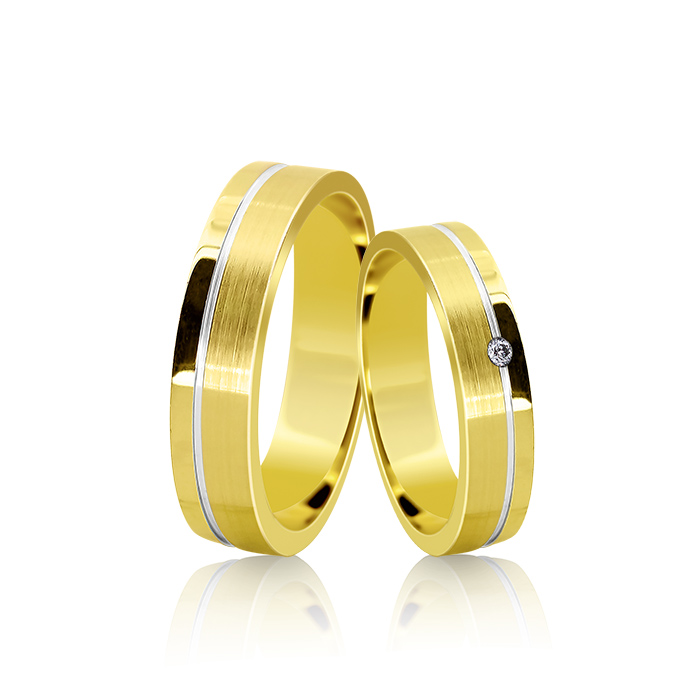 Wedding Ring Gold Euforia 104
