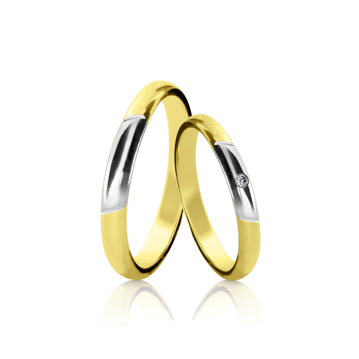 Wedding Ring Gold Euforia 114