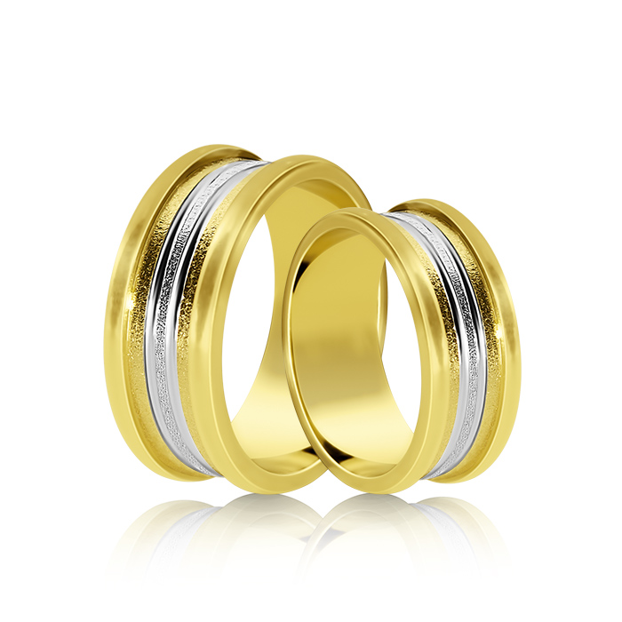 Wedding Ring Gold Onesta 414